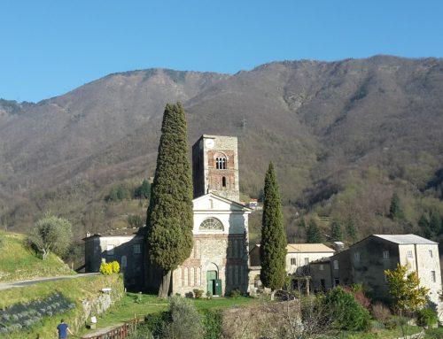 l'Abbazia di Borzone in Valle Sturla